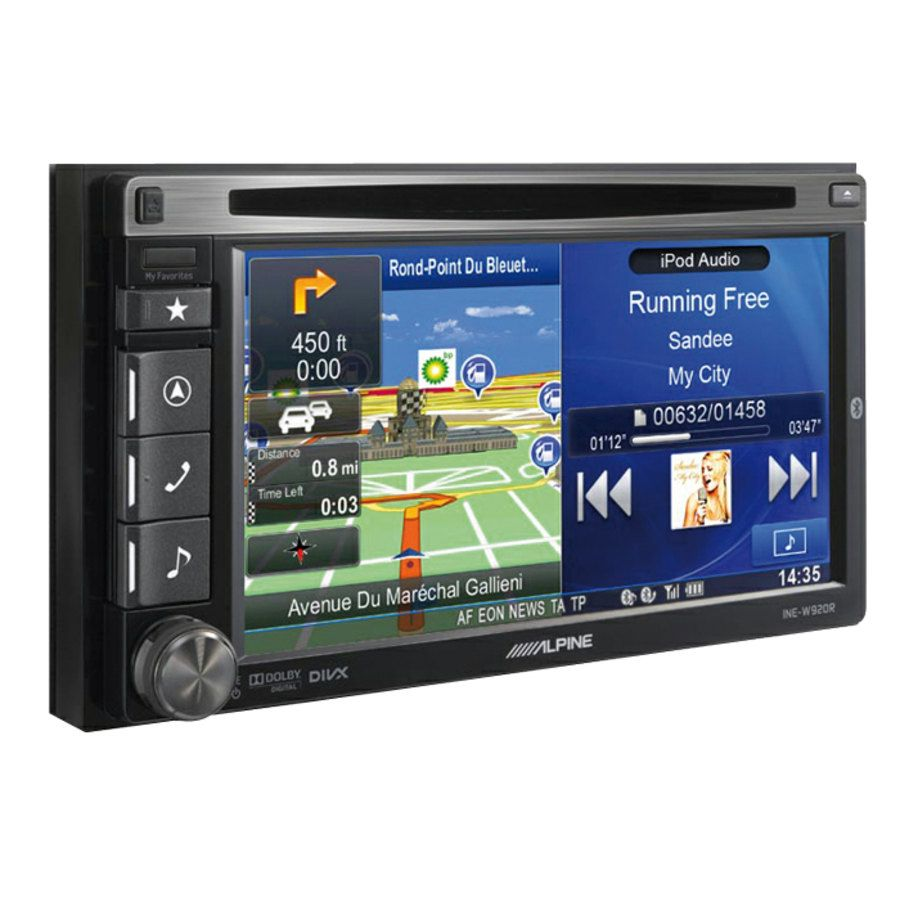 car stereo gps navigatore alpine ine w920r car stereo speedup. Black Bedroom Furniture Sets. Home Design Ideas