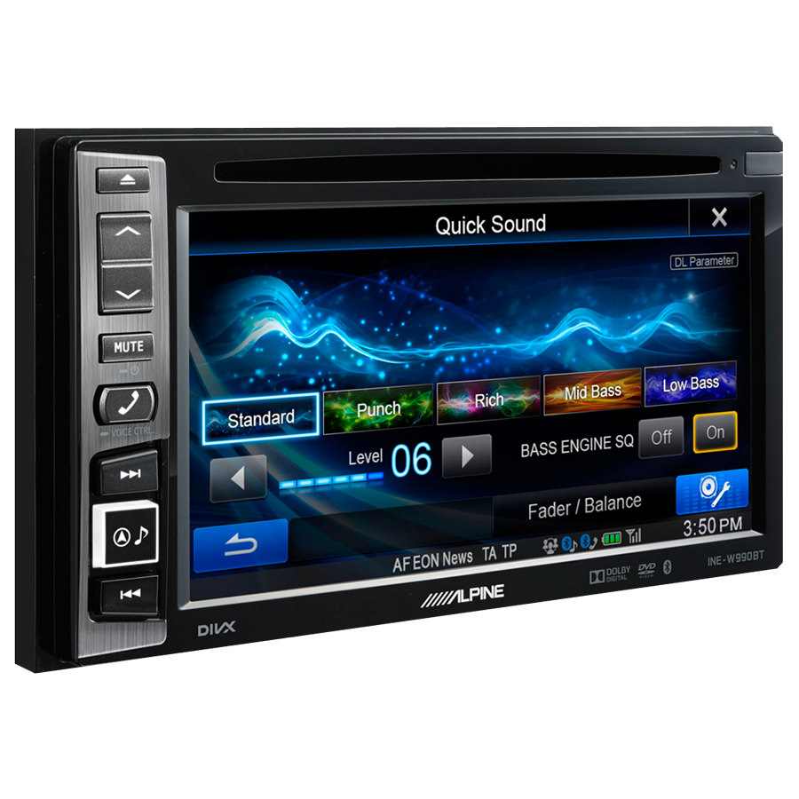 car stereo gps navigatore alpine ine w990bt car stereo. Black Bedroom Furniture Sets. Home Design Ideas
