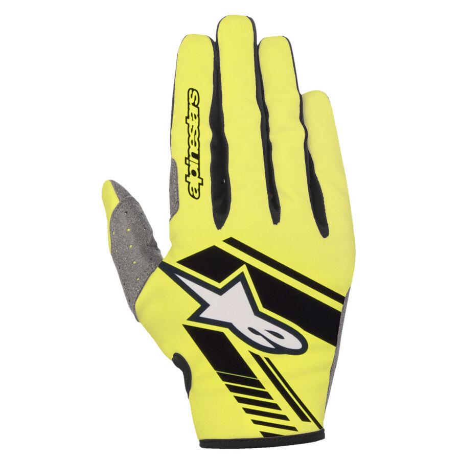 Guanti Adulto Alpinestars Racefend Gloves Bianco Nero White Moto Cross Enduro