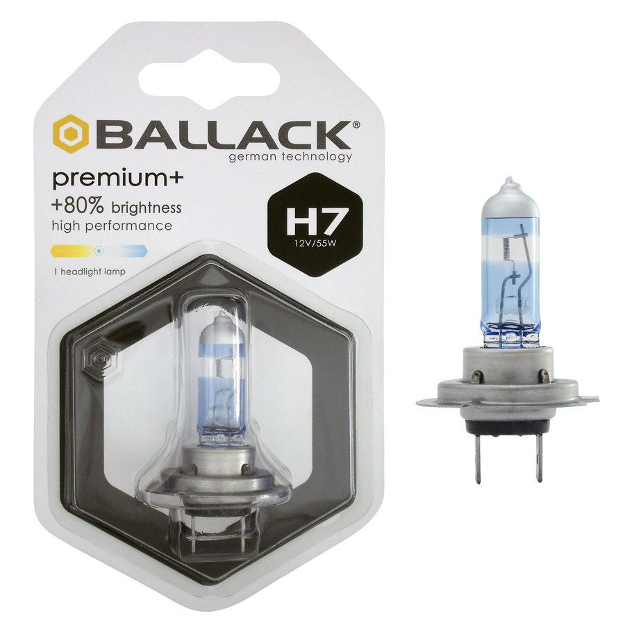 Lampadine H7 Ballack Premium H7 Lampadine Alogene Xenon Speedup