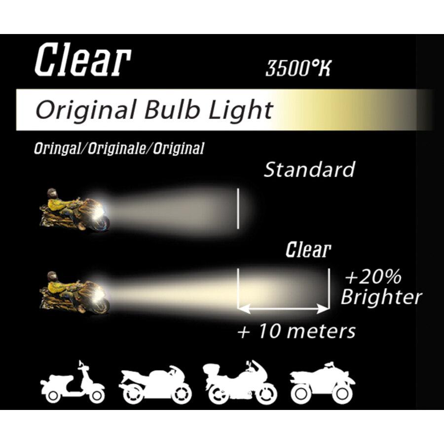Lampadina moto alogena bryte clear s2 lampadine for Lampadine alogene