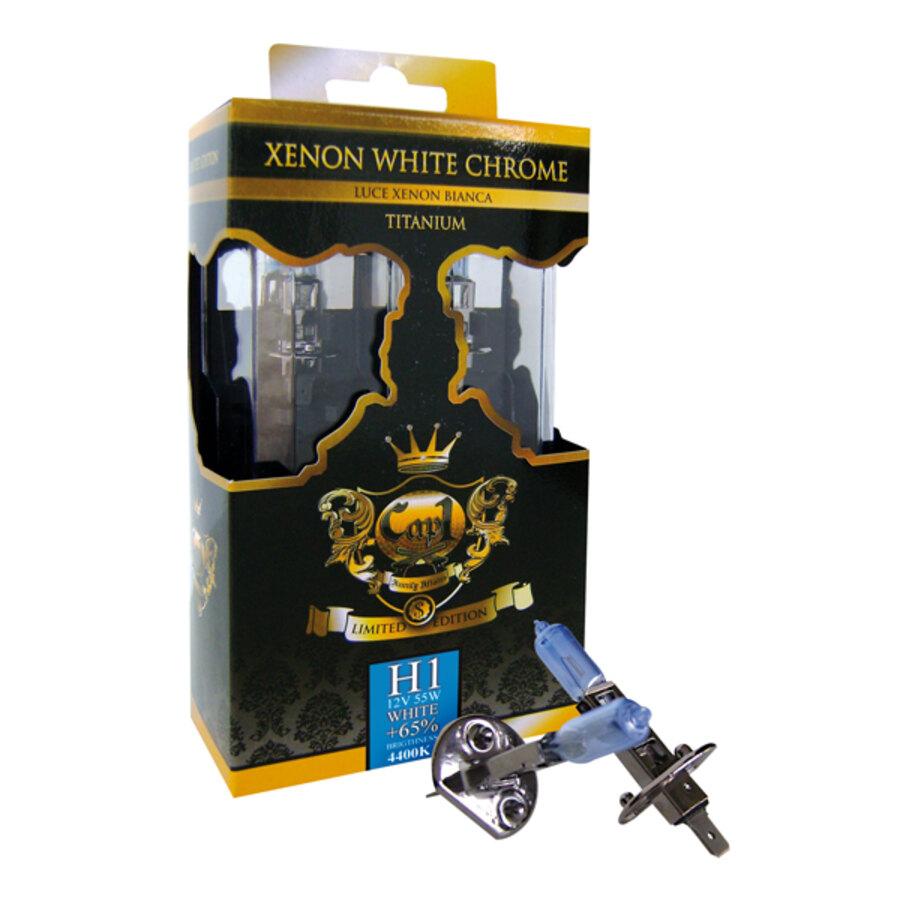... H1 Cap1 H1 - Xenon White Chrome - Lampadine - Alogene Xenon Speedup