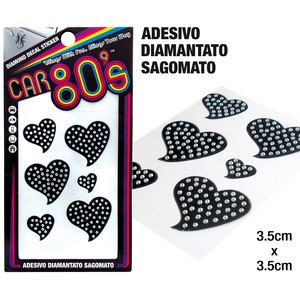 Adesivi diamantati CAR80S Heart