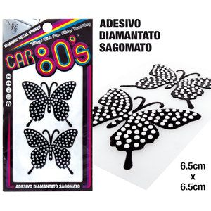 Adesivi diamantati CAR80S Butterfly