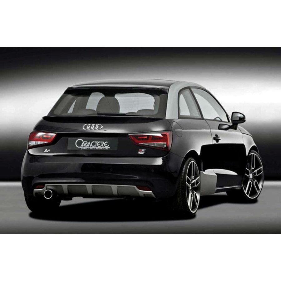 spoiler posteriore specifico caractere spolier audi a1. Black Bedroom Furniture Sets. Home Design Ideas