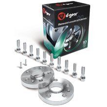 Kit distanziali e bulloni D-GEAR LX complete set - Green series