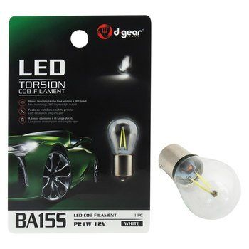 Lampadina BA15S a led D-GEAR BA15S Torsion COB filament