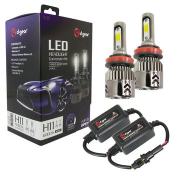 Lampadine H11 D-GEAR Led Headlight Conversion Kit V2