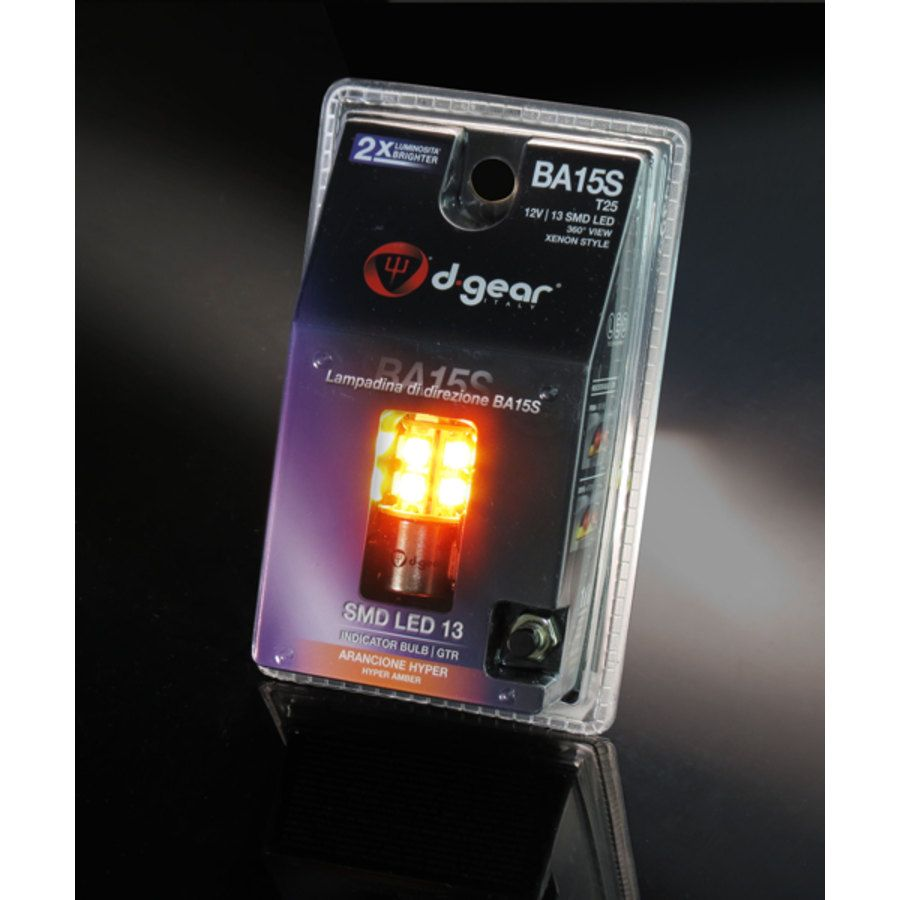 Lampadina BA15S a led D-Gear GTR - BA15S SMD Led - Luci per interni e di segnalazione  Speedup