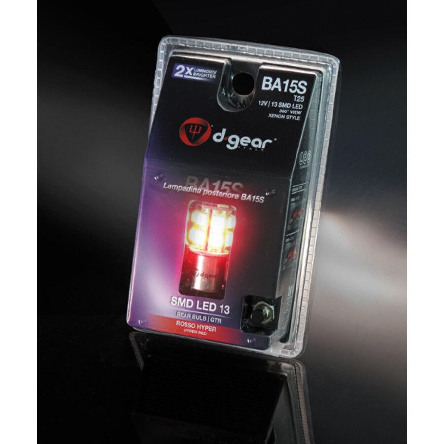 Lampadina ba15s a led d gear gtr ba15s smd led luci for Luci led per interni