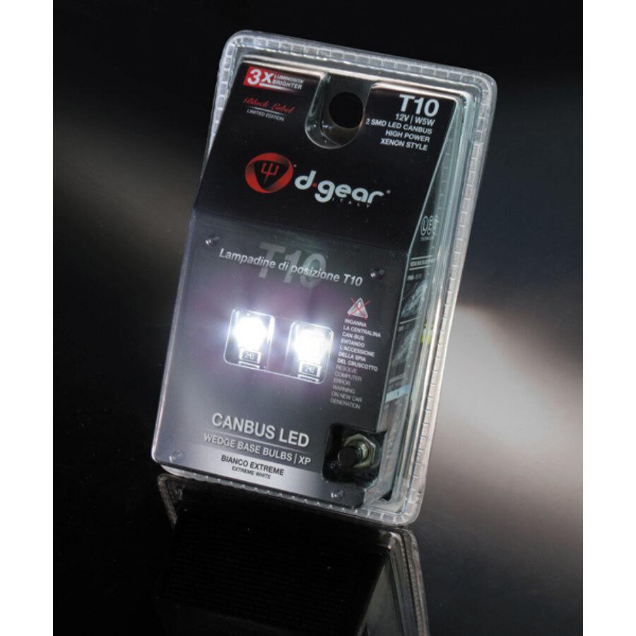 lampadina t : Lampadina T10 a led D-Gear XP - T10 Canbus - Luci per interni e di ...