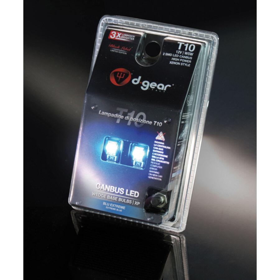 lampadina blu : Lampadina T10 a led D-Gear XP - T10 Canbus - Luci per interni e di ...