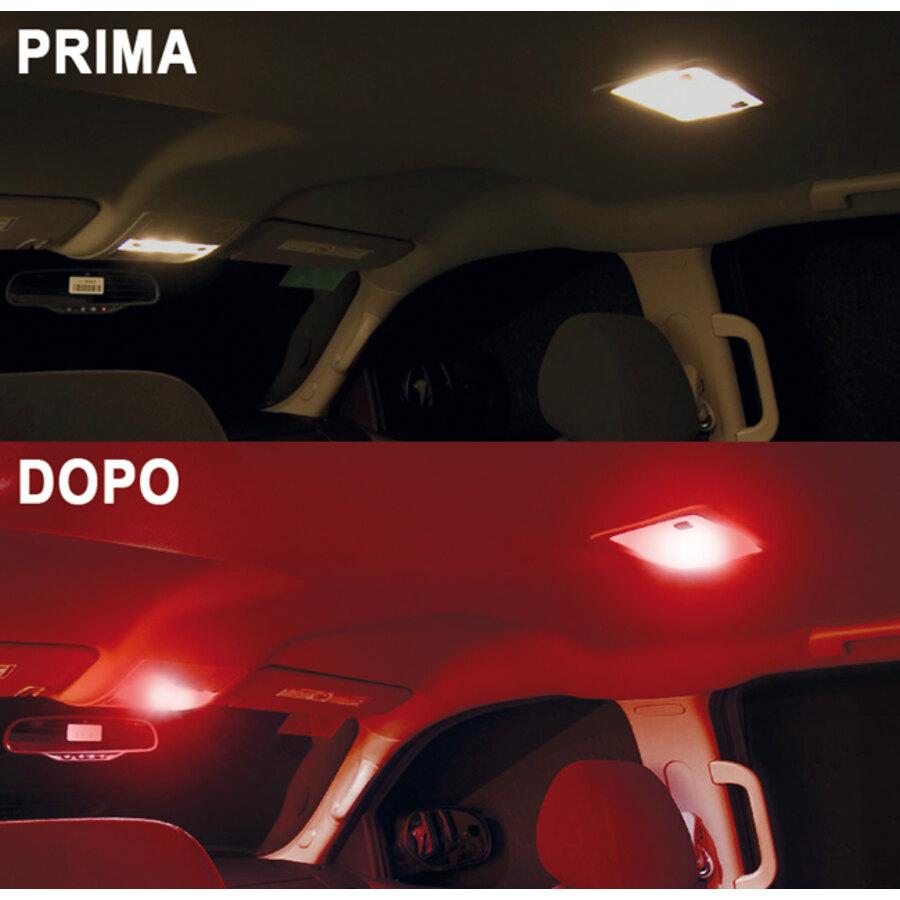 Lampadina t10 a led d gear xp t10 canbus luci per for Luci led interni