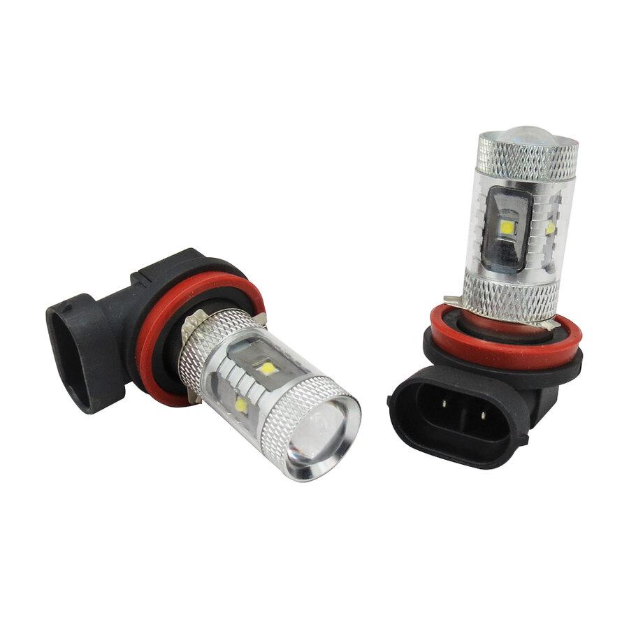 Lampadine altri attacchi d gear cree led foglight and day for Lampadine led per auto