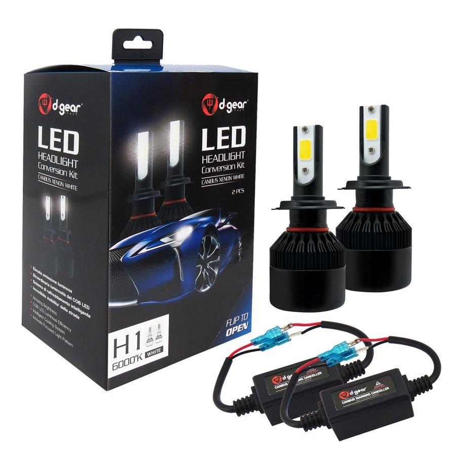 Lampadine H1 D Gear Led Headlight Conversion Kit Led Headlight
