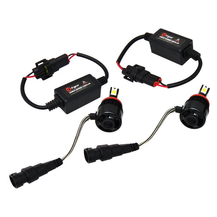 Lampadine h11 d gear led headlight conversion kit led for Kit lampadine led