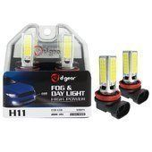 Lampadine H11 D-GEAR Cob Led Fog and Day Light
