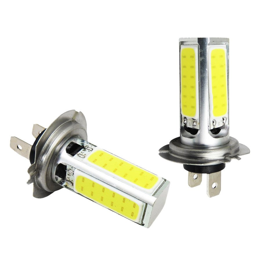 Lampadine h7 d gear cob led fog and day light lampadine for Lampadine h7 led