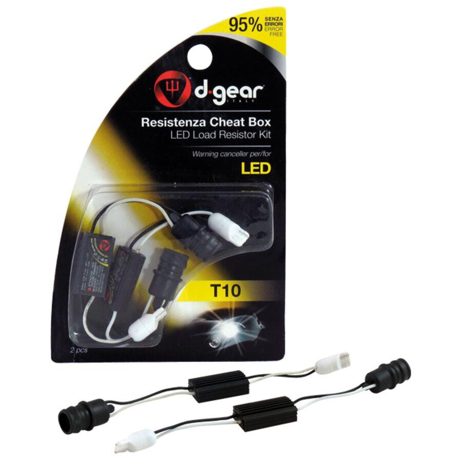 Resistenza lampadine d gear t10 led accessori per for Lampadine led per auto