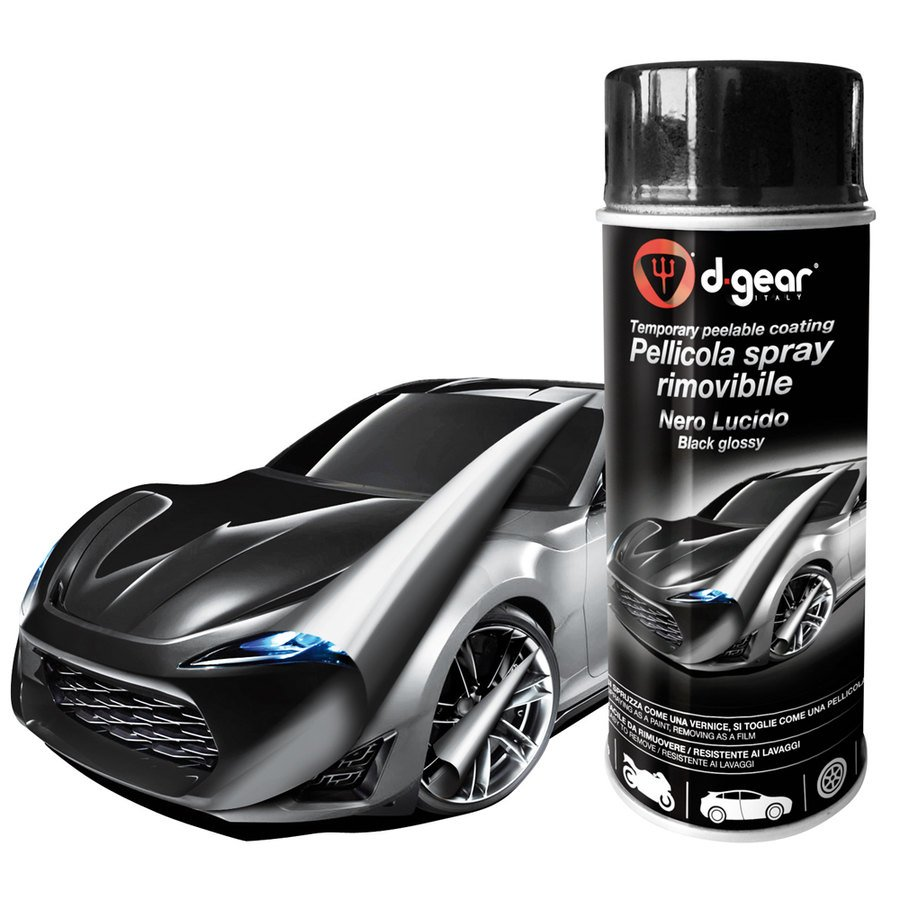 Vernice pellicola spray d gear rimovibile pellicole e - Vernice plastica per muri esterni ...