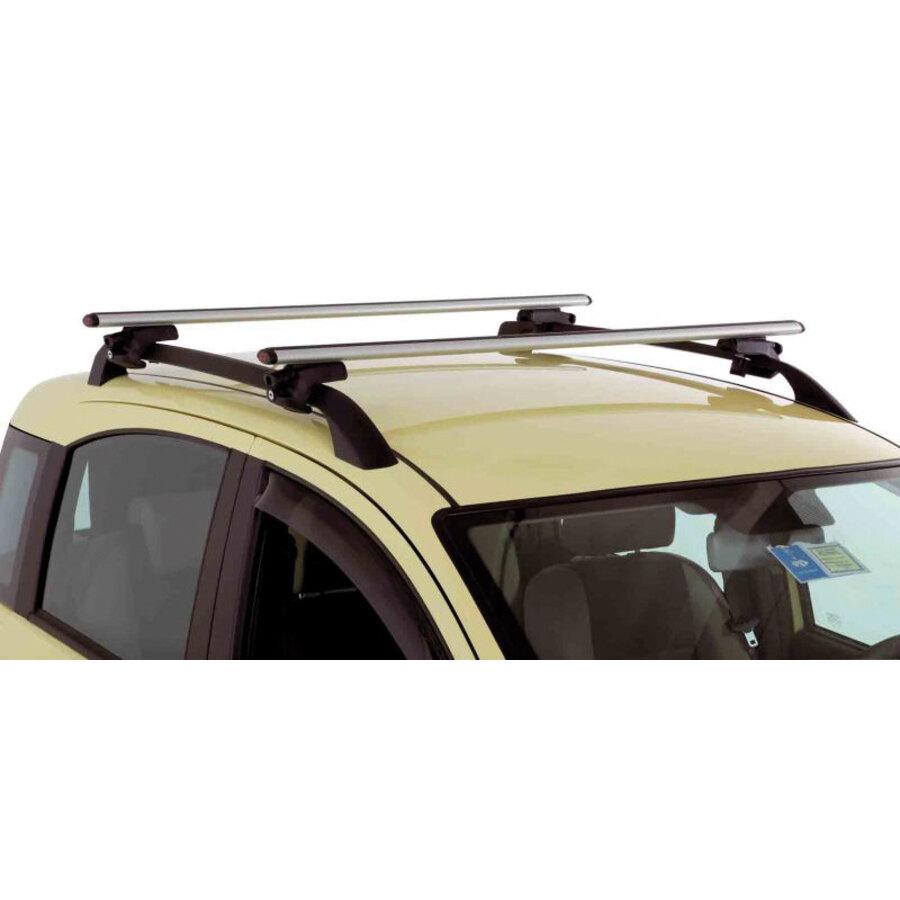 Barre portatutto auto g3 a fissaggio rapido grigio for 2 box auto con officina e soppalco