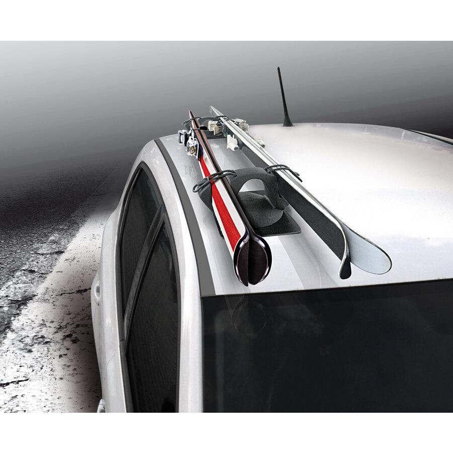 Portasci magnetico gev ski pass 2 portasci e snowboard - Porta sci magnetico ...