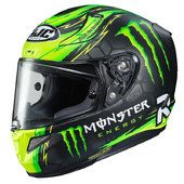 Casco Integrale HJC RPHA11 Monster Replica Crutchlow