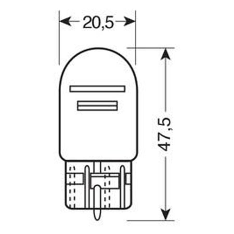 lampadina t : ... auto > Luci per interni e di segnalazione > Lampadina T20 a filamento