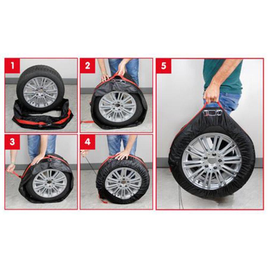 Copriruota di scorta int auto 13 19 tyre wrap for Piani di progettazione di stoccaggio garage
