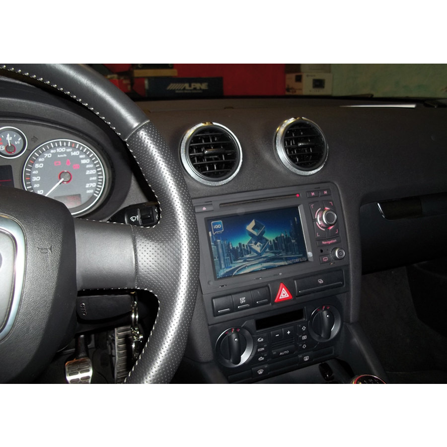 Car stereo applicazione specifica phonocar audi media station audi car stereo speedup - Sistemi audio casa ...