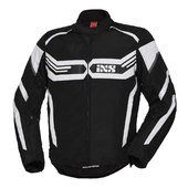 Ixs Giacca in tessuto RS-400-ST  Nero/bianco  Tg S