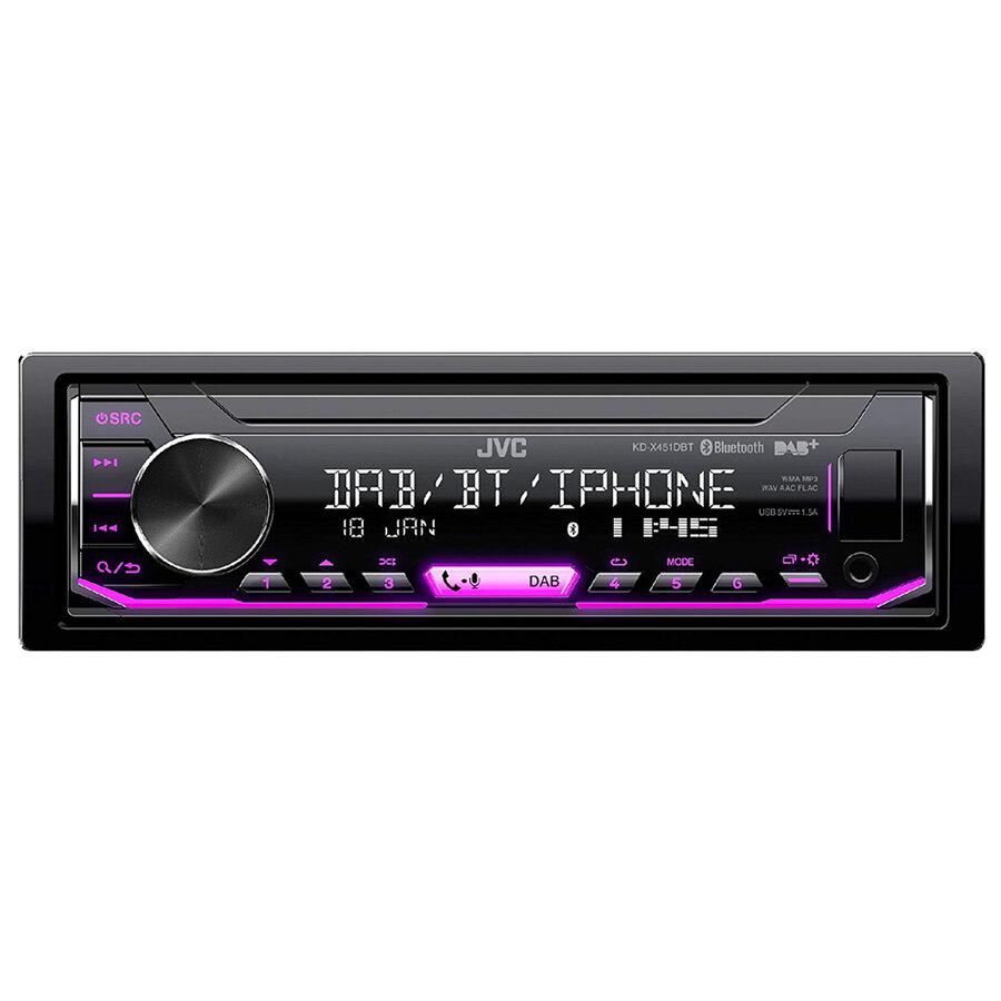 car stereo senza meccanica jvc kd x451dbt car stereo speedup. Black Bedroom Furniture Sets. Home Design Ideas