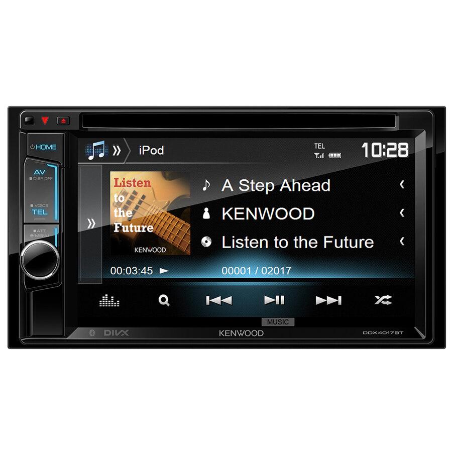 car stereo din doppio kenwood ddx 4017bt car stereo. Black Bedroom Furniture Sets. Home Design Ideas