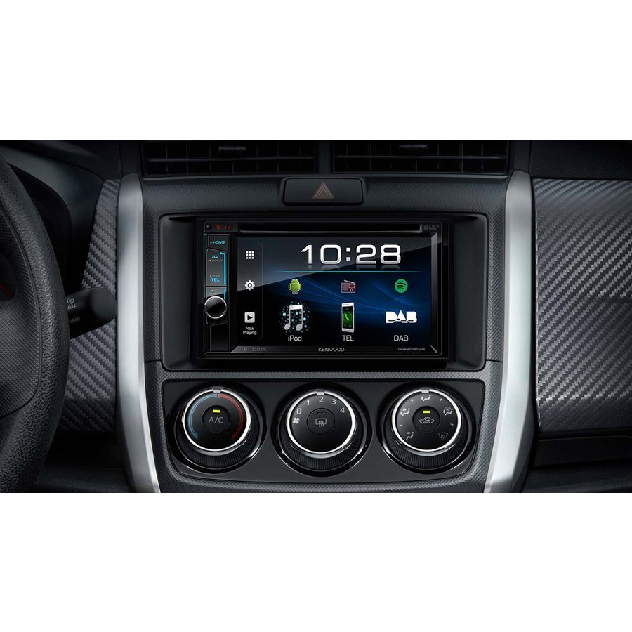 car stereo din doppio kenwood ddx 4018dab car stereo. Black Bedroom Furniture Sets. Home Design Ideas