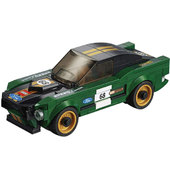 Costruzioni LEGO Speed Champ Ford Mustang Fastback