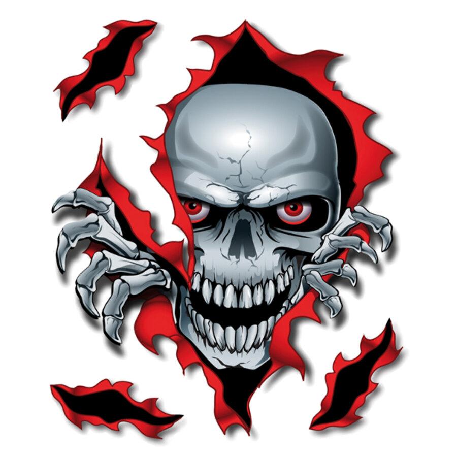 adesivi lethal threat peek a boo skull adesivi e decorazioni speedup. Black Bedroom Furniture Sets. Home Design Ideas