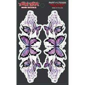 Adesivi LETHAL THREAT Purples Butterfly