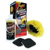 Rinnovatore fanali MEGUIARS Headlight and Clear Plastic Restoration Kit
