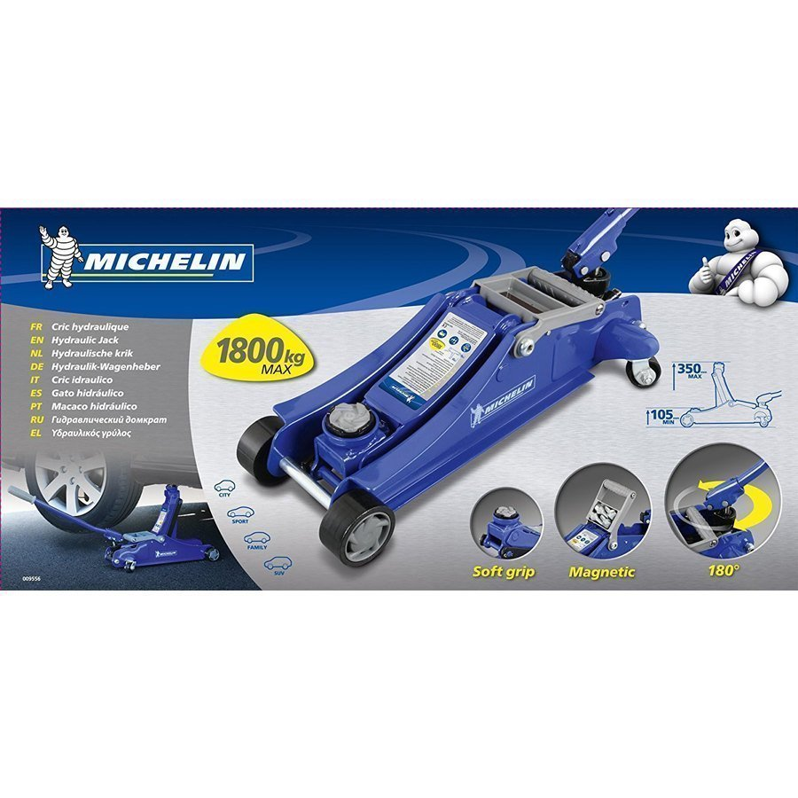 Cric idraulico michelin cric speedup for Cavalletti auto