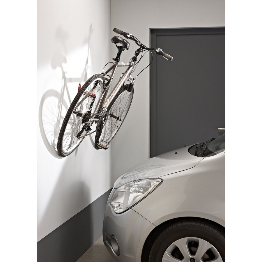 Porta bici a parete aggancio pedale mottez portabici da muro b215v bicicletta ebay - Portabiti da parete ...