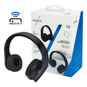 Auricolare Bluetooth NOVAK Cuffie Wireless BT