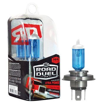 Lampadina alogena ROAD DUEL Xtra Power H4