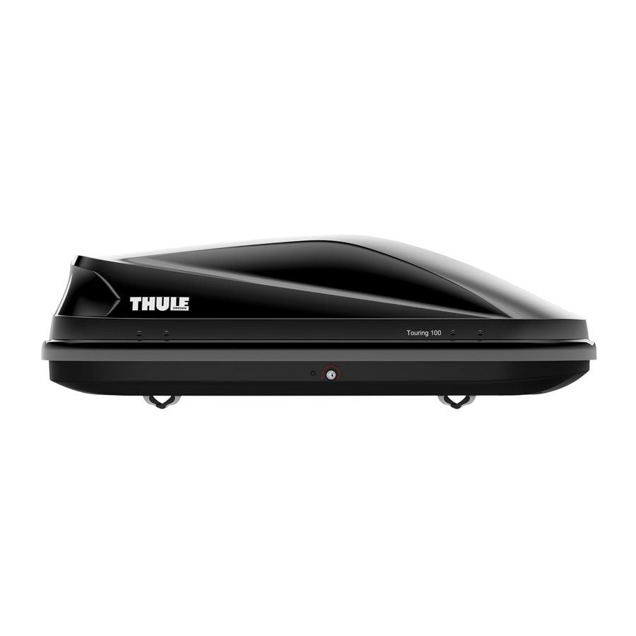 box portatutto thule touring 100 box tetto speedup. Black Bedroom Furniture Sets. Home Design Ideas