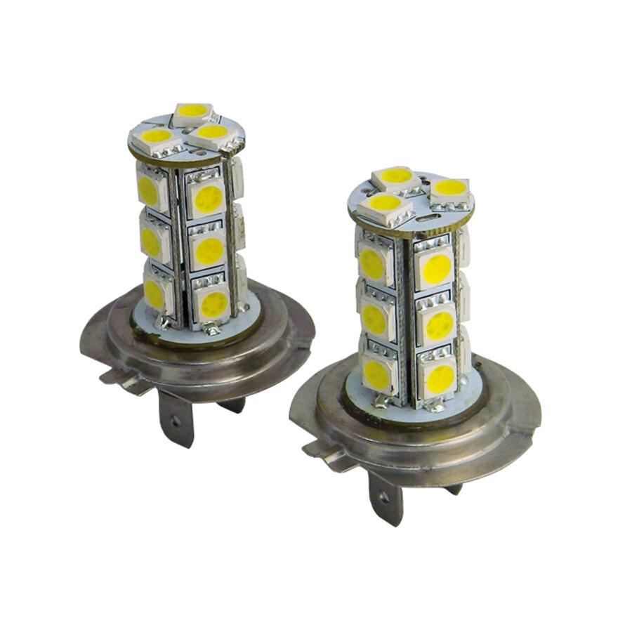 Lampadine h7 tuning guru 18 smd led foglight bulbs for Lampadine h7 led