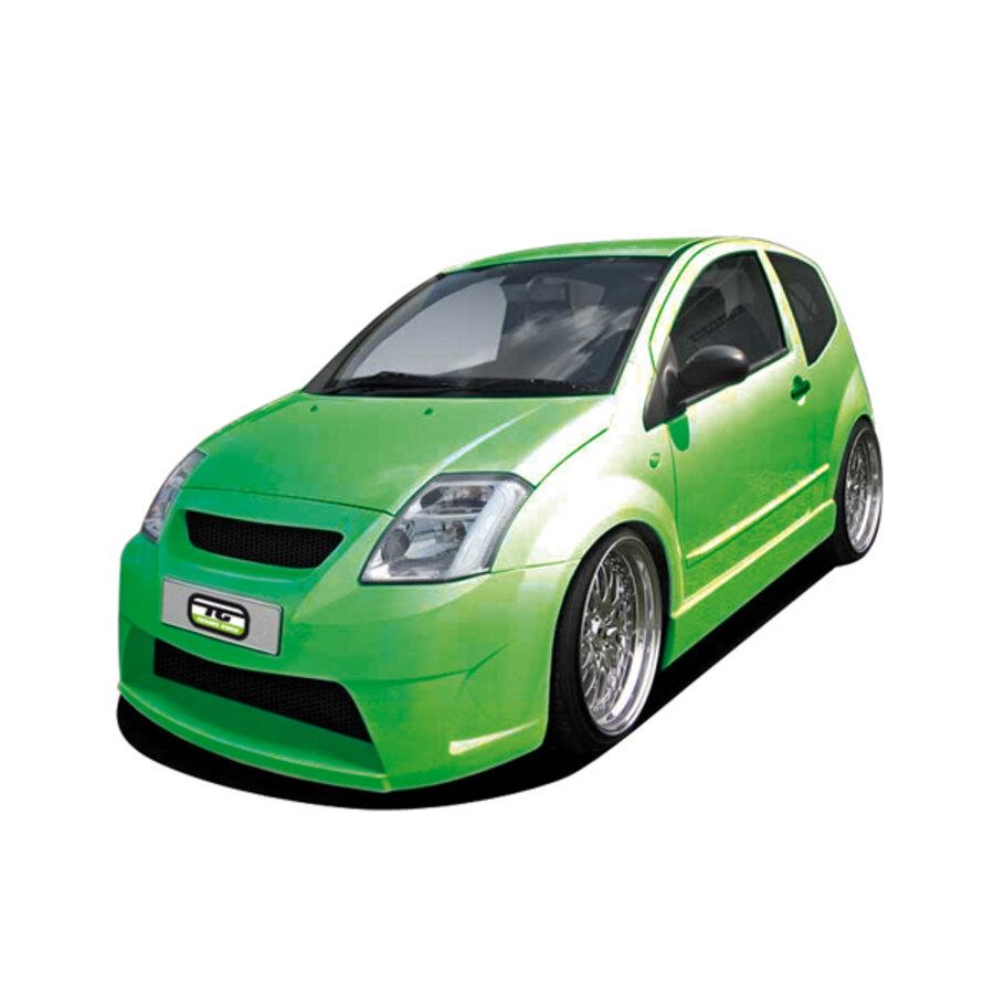Minigonne Tuning Guru Citroen C2 Minigonne Speedup
