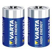 Batteria alcalina VARTA High Energy D