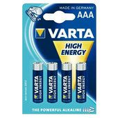 Batteria alcalina VARTA High Energy AAA